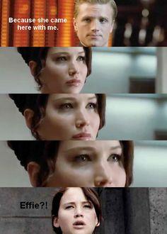 Clueless Katniss.