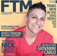 Philly Trans Man Makes the Cover of 'FTM' Magazine | G Philly