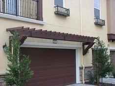 Available in two sizes to accommodate either single- or double-car garages, the Fypon PVC Trellis System offers a low-maintenance solution for accenting garage doors, as well as entryways, garden sheds, and free-standing garages. The system comes as a complete kit with outlookers reinforced with PVC for durability, attractive beams, lattice, and hardware. The PVC pieces come in smooth white and can assembled in just a few hours.