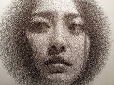The Incredible Wire Mesh Portraits of Seung Mo Park