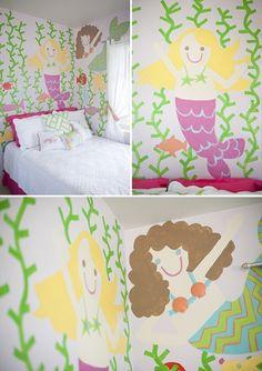 Mermaid room! LOVE!