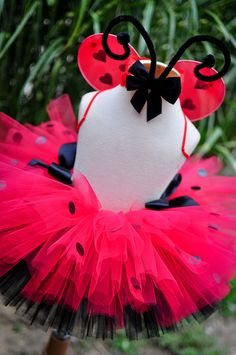 Little Lady Bug Tutu