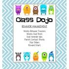 This packet has a lot of different behavior management tools to help run Class Dojo in your classroom, even when you are gone! The items included i...