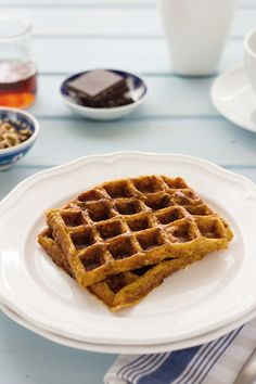 gluten free sweet potato waffles