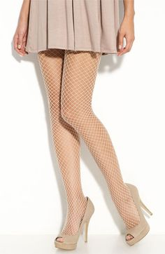 fishnet tights.