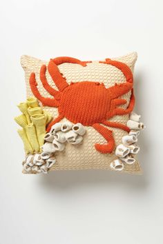 Hand-Crocheted Grotto Cushion | Anthropologie.eu