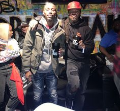 Dough From Da Go and Bask Da Kidd @ the #DefJam #Undisputed Docuseries Viewing & Listening Session Held @ Drink Haus Chicago