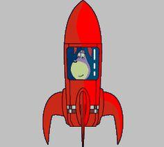 Blast the rocket - Past tense verb game