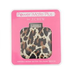 Leopard backup battery for iPhone