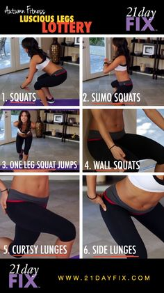 Luscious Legs Workout | Autumn Fitness | 21 Day Fix | Quick Fix Workouts Check out Dieting Digest
