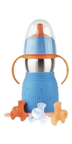 Buy Kid Basix Safe Sippy 2 Blue from Canada at Well.ca - Free Shipping