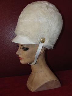 Vintage Uniform Hat Drum Majorette