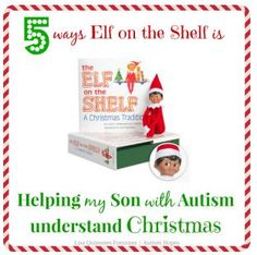 Worth Repeating: How Elf on the Shelf is Helping My Son With Autism  - pinned by @PediaStaff – Please Visit  ht.ly/63sNt for all our pediatric therapy pins