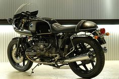BMW cafe motorcycles