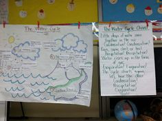 Water Cycle Pictorial Input Chart