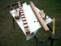 Small parts clamping jig