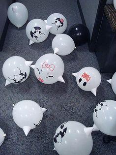 Boo Balloons!!!!!