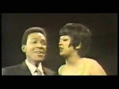 Marvin Gaye & Tammi Terrell Aint No Mountain High Enough. LOVE this