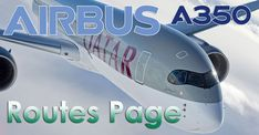 Airbus A350 Routes P