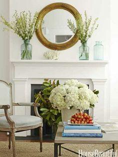 Mantel  Decorations : IDEAS & INSPIRATIONS : Mantle Decor Ideas