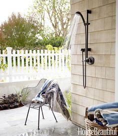 outdoor showers rock!