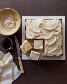 Maple Cake Recipe