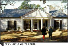 FDR's Little White House - Georgia. Just down the road from Callaway Gardens. Great history trip!