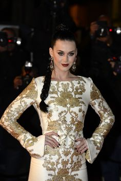 You can call her queen Katy. Current GRAMMY nominee Katy Perry looks regal on the red carpet at the 15th Annual NRJ Music Awards on Dec. 14 in Cannes, France