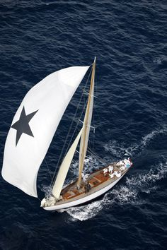 sail black star, sailing, blue, barcosvelero, yacht, sea, sail away, sailboat, nautic