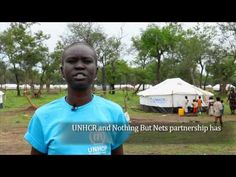 Alek Wek on Malaria Prevention in South Sudan Refugee Camp
