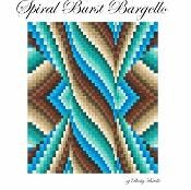 Spiral Burst Bargello Quilt Top - via @Craftsy