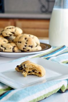 Perfectly Puffy Chocolate Chip Cookies (Pudding Cookie Recipe) (Soft  Chewy.  The Chewy Inside is Enveloped in a Crispy Golden Crust.) by Seeded at the Table
