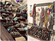 Awesome jewellery storage!