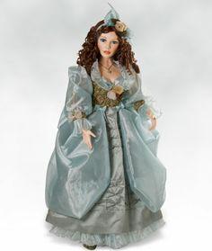 Amazon.com: Victorian Porcelain Doll, Michelle, 34 inch Collectible Doll (Artist: Pat Dezinski): Toys & Games