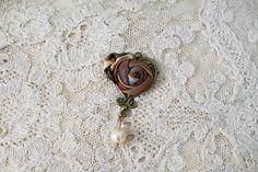 Antique Heart Pin