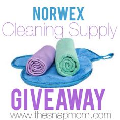 NORWEX Cleaning Supply Giveaway | The Snap Mom ENTER NOW ENTER NOW