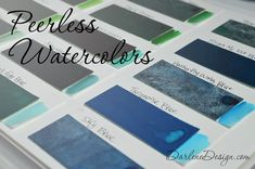 Peerless Watercolors - a review and tutorial.