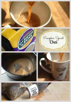 3 Ingredient Best Pumpkin Spice Chai