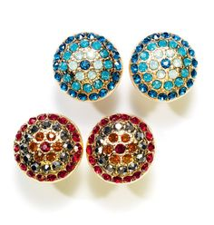 Avon: mark. Mosaic Detail Earrings