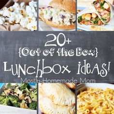 {Out of the Box} Lunchbox Ideas