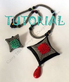 *P TUTORIAL Chrysanthemid 2 Pendant, Rope and Ring