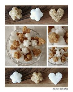 How to make your own sugar cubes!