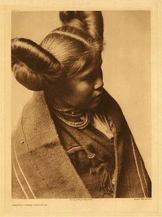 Hopi Indian Girl - Edward S Curtis