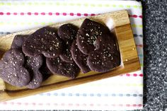intensely chocolate sables by smitten kitchen