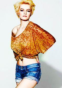 "Dakota Blue Richards aka ""Franky Fitzgerald"" from Skins UK."