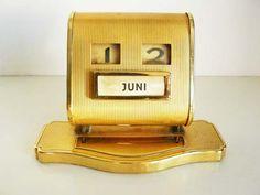 Vintage Perpetual Calendar by artyfactz on Etsy