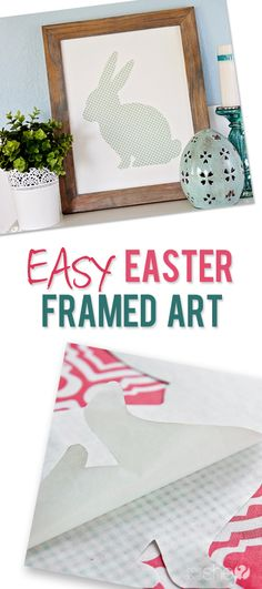 Easy Easter Framed Art