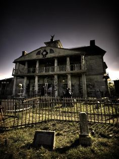 Haunted places. I believe this is in Texas?