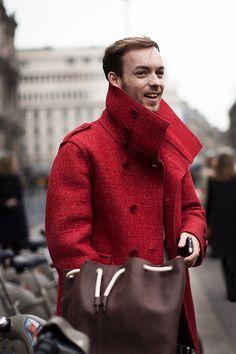 A Red Coat
