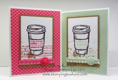 Stamping to Share: 8/26 Perfect Blend, My Favorite Stamp Set